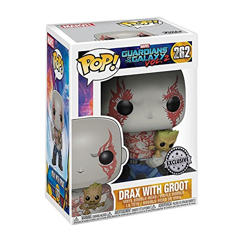 1bc893757fe Funko Pop Guardians of the Galaxy Vol. 2 - Drax with Baby Groot (FYE ...