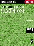 Technique Of The Saxophone: 3