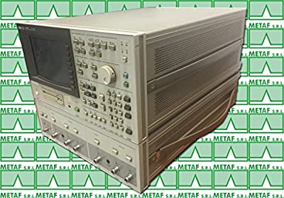 HP 4195A Network/Spectrum Analyzer - 10 Hz to 500 MHz, 0.1 dB res, w/cables