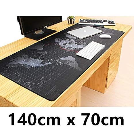 Mouse Pad 140 cm X 70 cm Mapa del mundo Súper Gran Mesa de ...