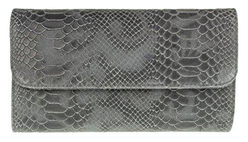 Girly Handbags - Cartera de mano Mujer gris oscuro