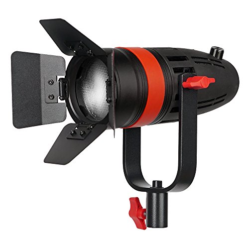 2 Pcs CAME-TV Boltzen 55w Fresnel Focusable LED Daylight Kit