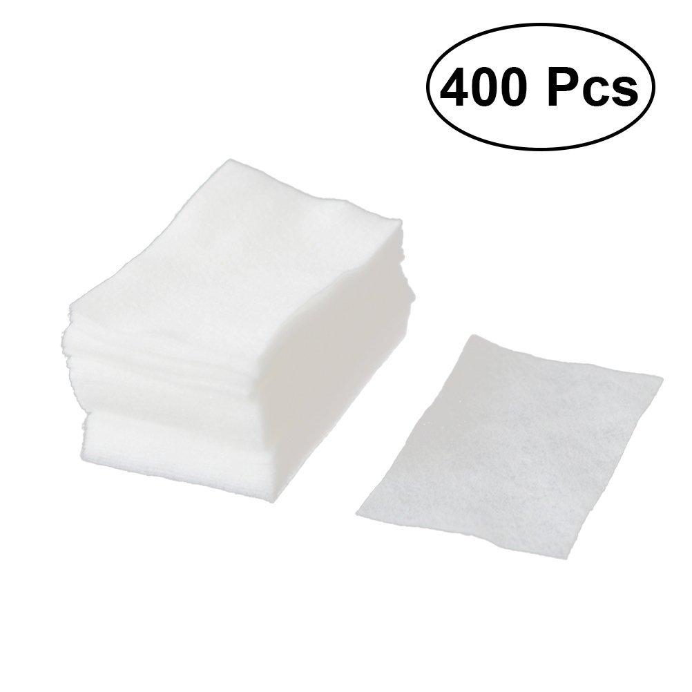 Frcolor struccante 400PCS Portable pulizia cotone usa e getta make up cotone pezzo