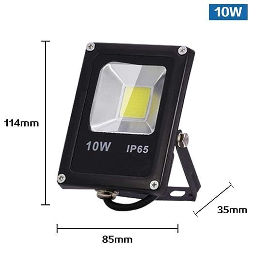 Sensor de movimiento Luz de inundación LED 50W 30W 10W 220V ...