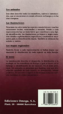 MANUAL MAMIFEROS DE ESPAÑA Y EUROPA GUIAS DEL NATURALISTA-MAMIFEROS: Amazon.es: CORBET, OVENDEN: Libros