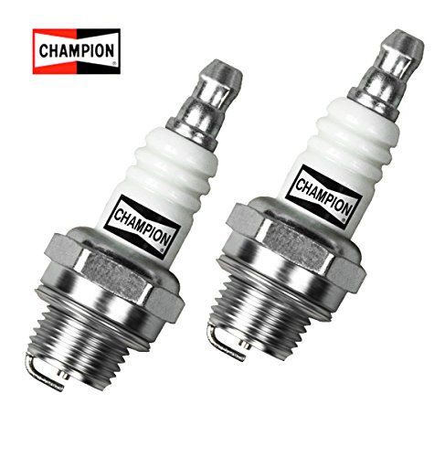 Small Engine Spark Plug for Lawn Equipment, (2 Pack) Champion CJ8 (Small Engine Spark Plug)