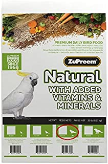 product image for ZuPreem 20 LB, Natural Blend Medium/Large Bird Food