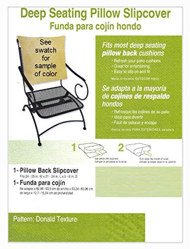 Amazon.com : Buffaloe Creek Sales Deep Seat Pillow Back ...
