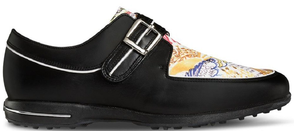 FootJoy Tailored Collection Womens Golf Shoes 91651 Black/Graffiti - 7 Medium
