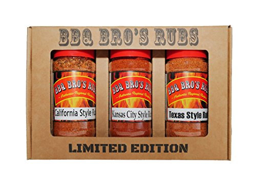 BBQ BROS RUBS - Western Style {LIMITED EDITION SET} - Ultimate Barbecue Spices Seasoning Collection - Use for Grilling, Cooking, Smoking - Meat Rub, Dry Marinade, Rib Rub