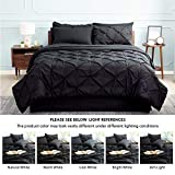 Bedsure Black King Size Comforter Sets - Bed in A