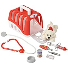 Theo Klein 4831 Vet Transport Crate with Dog