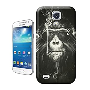 LarryToliver You deserve to have Animal painting patterns Smoking monkey For samsung galaxy s4 Cases