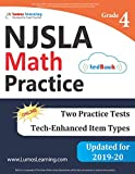 New Jersey Student Learning Assessments (NJSLA) Test Practice: 4th Grade Math Practice Workbook and Full-length Online Assessments: New Jersey Test Study Guide