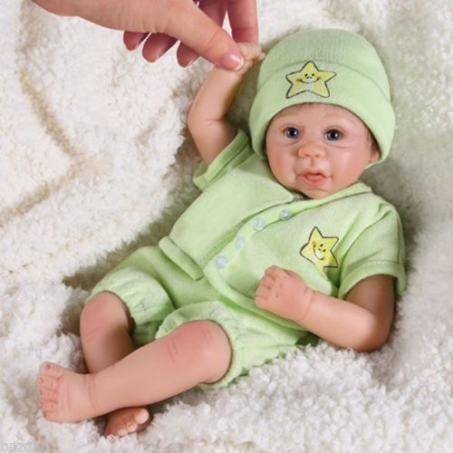 Marjorie Trieschmann Tiny Miracles Twinkle Twinkle Musical Miniature Lifelike Baby Doll: So Truly Real by Ashton Drake (Real Musical Doll)