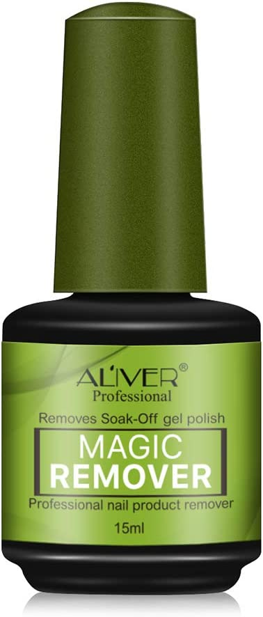 Imagen deSoak-Off Gel Polish Nail Remover Esmalte Extractor de Esmalte de Uñas Mágico Especial Eliminación de Estallido de Uñas Líquido Descarga de Pegamento Manicura Gel de Remojo