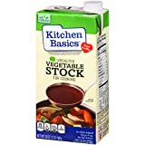 Kitchen Basics Unsalted Vegetable Stock, 32 fl oz