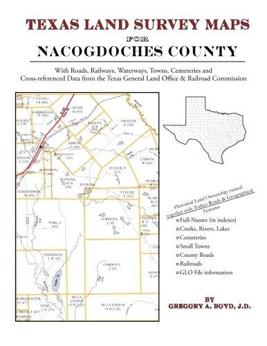 Texas Land Survey Maps for Nacogdoches County
