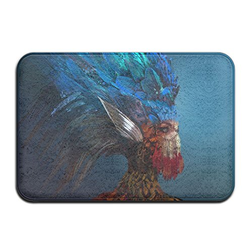 Feathered Witch - DDIAN Feathered Witch Non Slip Mat, Kitchen, Toilet, Laundry, Bedroom Or Pet Mat.