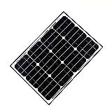 ALEKO 50W 50-Watt Monocrystalline Solar Panel
