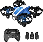Holyton HS330 Hand Operated Mini Drone for Kids Beginners - Remote Control Quadcopter with Altitude Hold, Thro