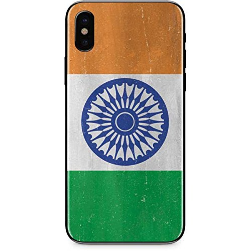 Countries of the World iPhone X Skin - India Flag Distressed | Skinit Lifestyle - India Lifestyle Of