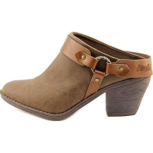 Blowfish Womens Sangria Mule Bootie Caffè Texas / Whisky Pisa