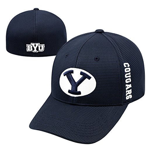 Top of the World Byu Cougars Official NCAA One Fit Booster Plus Hat Cap by 020024
