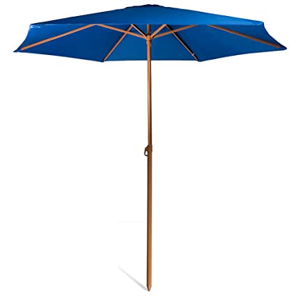 690GRAND 8ft Shade Vented Patio Umbrella Aluminum Poles with Polyester  Canopy Portable Lightweight for Beach Outdoor - Amazon.com : 690GRAND 8ft Shade Vented Patio Umbrella Aluminum Poles