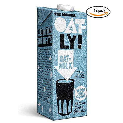 Oatly Oatmilk (12-pack, 32oz) (Original) (Gum Think)