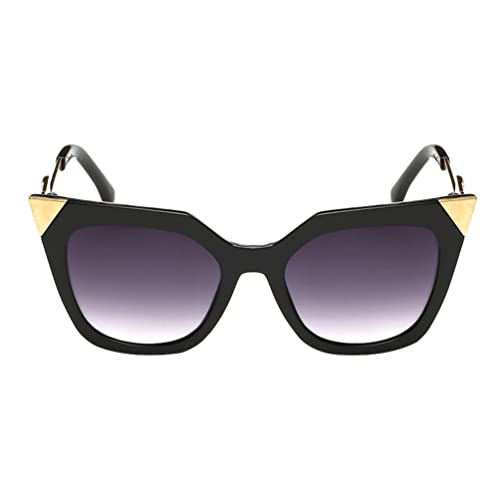 YAANCUN Mujer La Nueva Moda Gafas De Ojo De Gato De Alta Definición De Colorida Gafas De Sol De La Gris 2