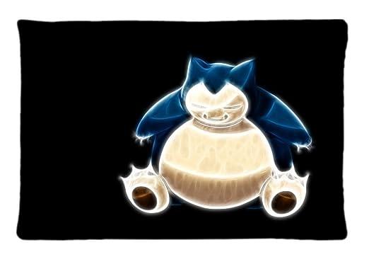 Custom Fractalius Pokemon Snorlax negro Ba ~ imagen funda de ...