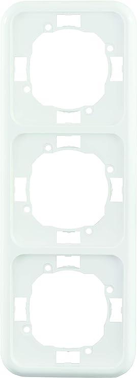 REV Ritter 0216830104 REV Vario 3-Fach Rahmen wei/ß Oberputzinstallation