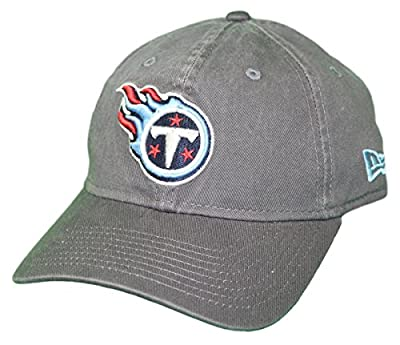 New Era Tennessee Titans NFL 9Twenty Core Classic Graphite Adjustable Hat by New Era