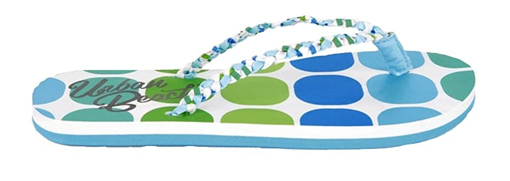 3a98cdee8f5014 Urban Beach KIDS GIRLS CHILDRENS CUSHIONED SANDALS FLIP FLOPS TOE POSTS SZ  10-2 FW559  Amazon.co.uk  Shoes   Bags