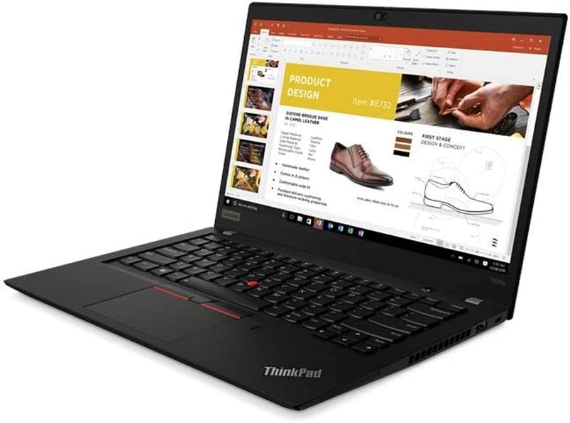 "Latest_Lenovo ThinkPad T490s 14.0"" FHD, i5-8265U, 8GB DDR4, Integrated 256GB SSD, Win 10 Pro 64, UHD Graphics 620, Fingerprint Reader & Backlit Keyboard - Black"