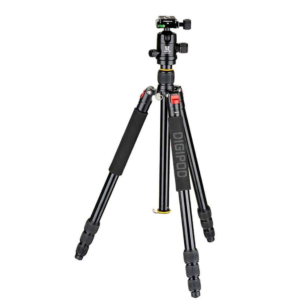 360度ボールヘッド付きDSLR三脚アルミ製軽量三脚スタンド(キャリーバッグ付きカメラ用)最大荷重18kg高さ177cm   B07CV685DK