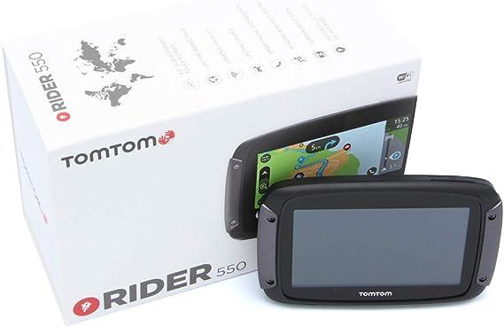 Tomtom Rider 550 Navigationsgerät Für Motorrad Navigation