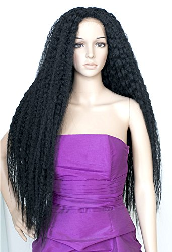 (Magic Lace Front Wig Super Long 40 Inch Beach Wave - MLB42 (REDWINE- Deep Red Wine/5% Black)