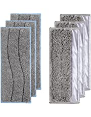 Washable Wet Mopping Pads Compatible with Braava Jet m Series, Reusable Wet/Dry Pads for iRobot Braava Jet M6 (6110) Authentic Replacement Parts