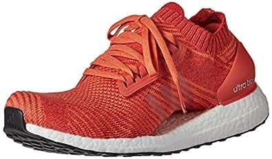 adidas Originals Men's Ultraboost X Running Shoe, Trace Scarlet/Crayon White/Trace Orange, 5 M US