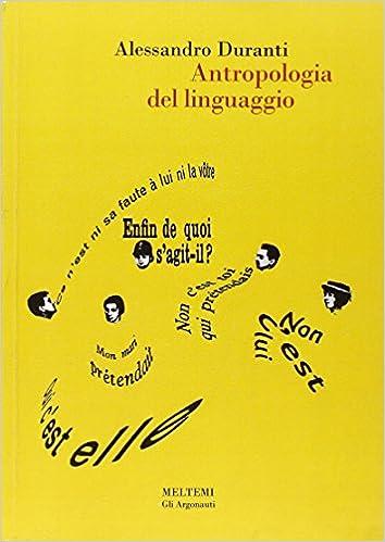 antropologia linguistica duranti
