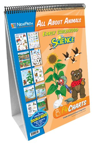 NewPath Learning All About Animals Curriculum Mastery Flip Chart Set, Early - About Chart Animals