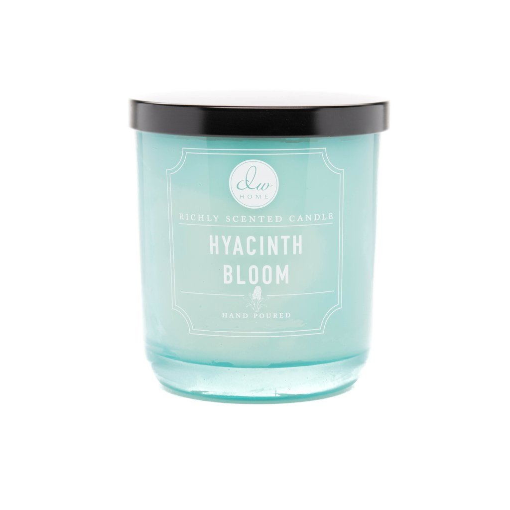 Dw Home Hyacinth Bloom Richly Scented Candle Small Single Wick Hand Poured 4 Oz