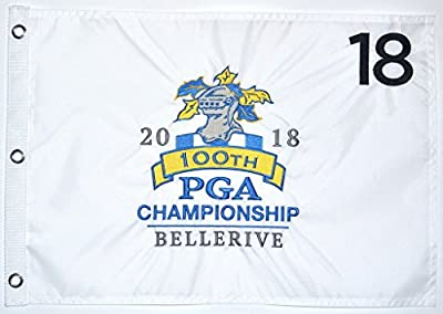 KD 2018 PGA CHAMPIONSHIP GOLF PIN FLAG - Winner is ??? @ Bellerive Country Club Embroidered