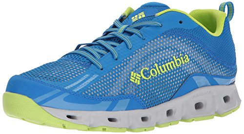 Columbia Men's Drainmaker IV Water Shoe, Hyper Blue, Fission, 7.5 Regular US
