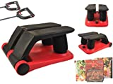 Air Stepper Climber Exercise Fitness Thigh Machine W/DVD Meal Plan Resistan Cord