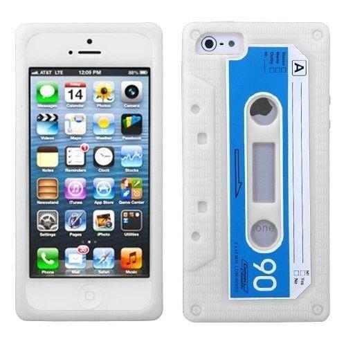 EEA 3D Retro Silicone Cassette Tape Case for iPhone 4 4S - 4s Iphone Cassette Case Tape