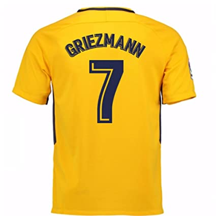 Image Unavailable. Image not available for. Color  2017-18 Atletico Madrid  Away Football Soccer T-Shirt Jersey (Antoine Griezmann 7 bea683aae