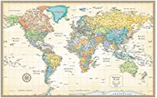 Download free world maps rand mcnally classic world wall map laminated gumiabroncs Gallery
